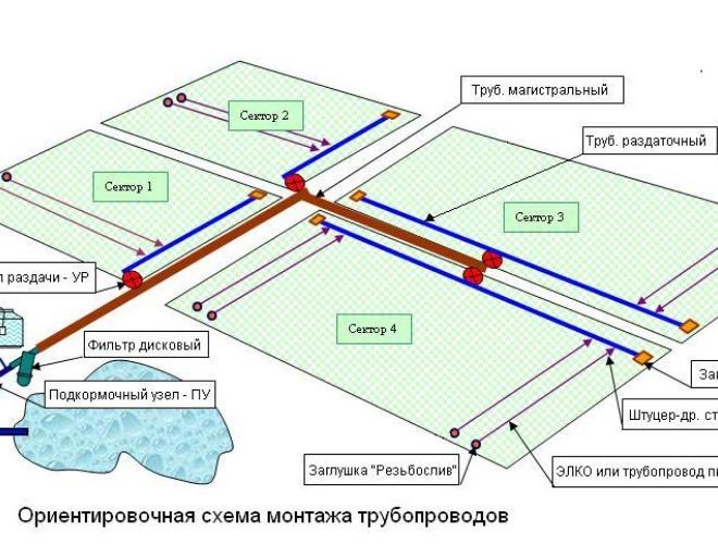 Проект системы полива